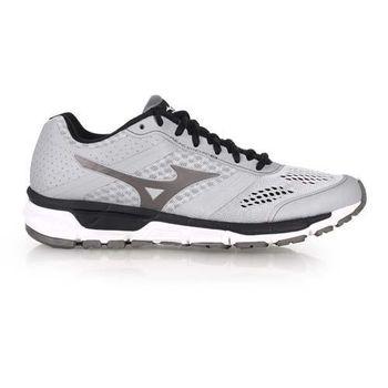 【MIZUNO】SYNCHRO MX 男慢跑鞋- 路跑 美津濃 健身 訓練 淺灰黑