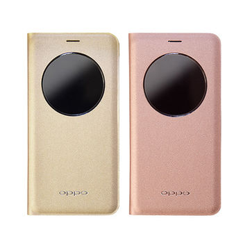 OPPO R9 Plus 專用原廠視窗皮套 (台灣公司貨-盒裝)
