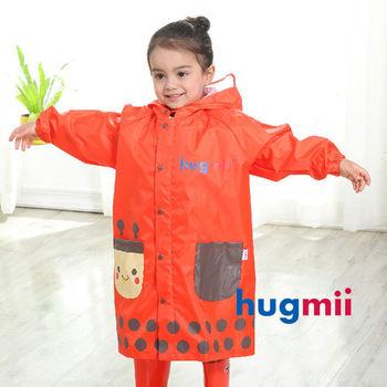 【hugmii】童趣立體造型書包位兒童雨衣_瓢蟲