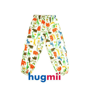 【hugmii】滿圖童趣造型兒童雨褲_動物園