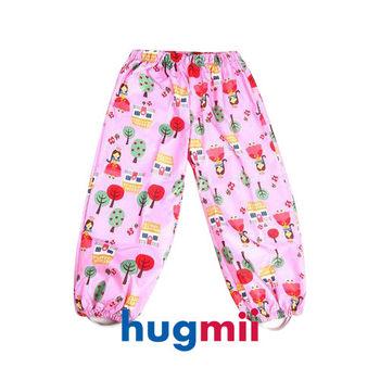 【hugmii】滿圖童趣造型兒童雨褲_公主