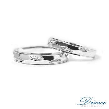 DINA JEWELRY 蒂娜珠寶『戀曲』系列 結婚對戒(預購)