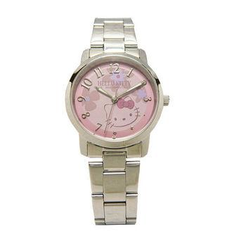 【Hello Kitty 】花仙子時尚腕錶(粉紫色)-LK572LWVA