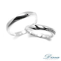 DINA JEWERLY蒂娜珠寶『最愛』系列鑽石對戒-預網