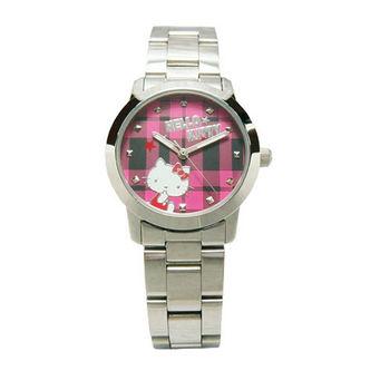 Hello Kitty 童玩博覽會趣味造型時尚腕錶-紅面-LK683LWPI-1