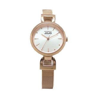 NATURALLY JOJO 米蘭風情萬種時尚優質腕錶-玫瑰金-JO96889-80R