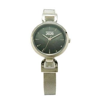 NATURALLY JOJO 米蘭風情萬種時尚優質腕錶-銀色-JO96889-88F