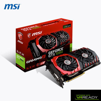 MSI微星 GEFORCE  GTX 1080 GAMING X 8G 顯示卡