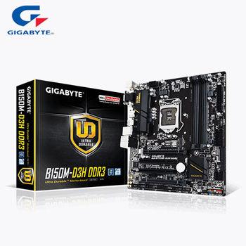 GIGABYTE 技嘉 GA-B150M-D3H DDR3 主機板