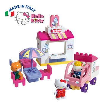 【義大利Unico】Hello Kitty-yummy冰淇淋小舖組