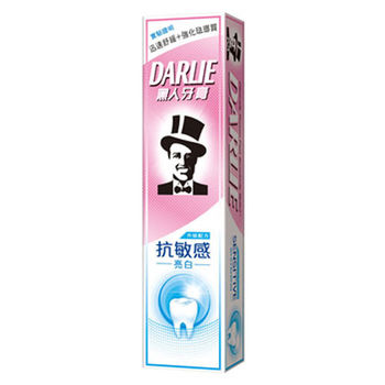 黑人抗敏亮白牙膏120g*6支