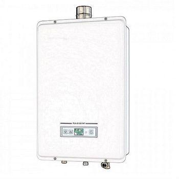 林內16公升數位恆溫強制排氣型熱水器 RUA-B1601WF