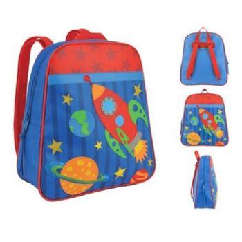 【Stephen Joseph】GOGO美式兒童造型防水背包(太空火箭)