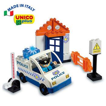 【義大利Unico】主題系列-警察車組