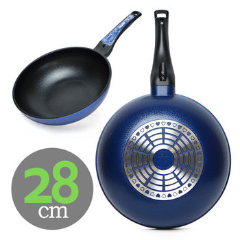 【韓國SAEMMI】陶瓷不沾炒鍋(28cm)