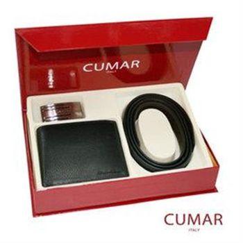 CUMAR 皮帶皮夾禮盒組 0596-16901-17