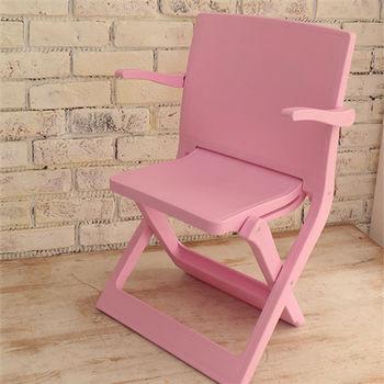 樂生活 專利創意坐躺折疊椅露營椅-粉