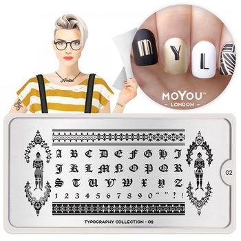 MoYou指彩印花_NO.201文字設計Typography#02英文字型