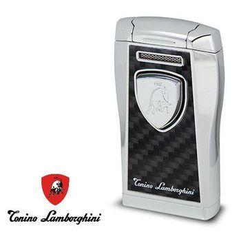 義大利 藍寶堅尼精品Argo Butane Refillable Cigar 打火機(銀) ★ Tonino Lamborghini 原廠進口 ★
