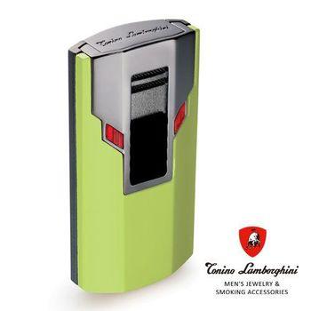 義大利 藍寶堅尼精品 - ESTREMO LIGHTER 打火機(綠色) ★ Tonino Lamborghini 原廠進口 ★