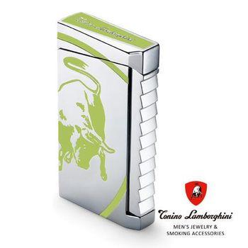 義大利 藍寶堅尼精品 - ILTORO LIGHTER 打火機(綠色) ★ Tonino Lamborghini 原廠進口 ★