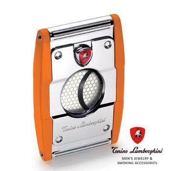 義大利 藍寶堅尼精品 - PRECISIONE CIGAR CUTTER 雪茄剪(橘色) ★ Tonino Lamborghini 原廠進口 ★