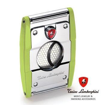 義大利 藍寶堅尼精品 - PRECISIONE CIGAR CUTTER 雪茄剪(綠色) ★ Tonino Lamborghini 原廠進口 ★