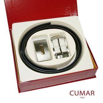 CUMAR雙頭皮帶禮盒組0596-11301-8