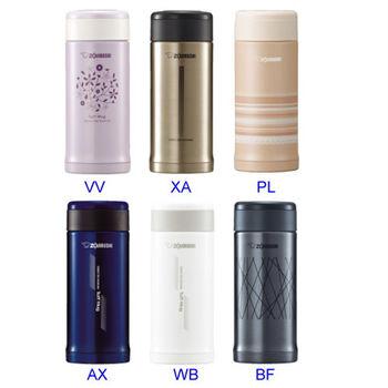 【象印】0.36L不鏽鋼保溫/保冷瓶 SM-AFE35 (6色選1)