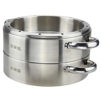 【大家源】304不鏽鋼原味蒸籠(適用六人份電鍋) TCY-3200A