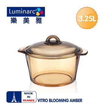 法國【樂美雅】Blooming 3.25L微晶透明鍋