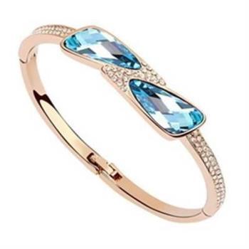 【米蘭精品】925純銀手環水晶手鍊特選尊貴時尚個性