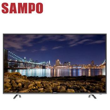 【SAMPO聲寶】 43吋低藍光LED液晶顯示器+視訊盒(EM-43AT17D)