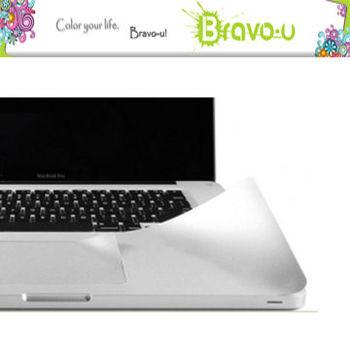 APPLE MacBook Pro 專用手墊貼-15吋Retina專用(冷銀灰)