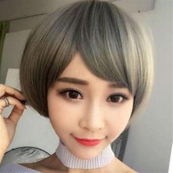 【米蘭精品】短假髮整頂假髮清新甜美可愛