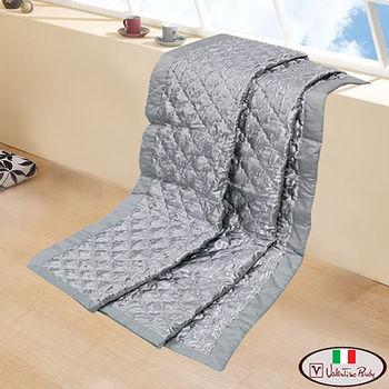 【Valentino Rudy】緹花純棉竹碳冷氣被-5X5尺-1入