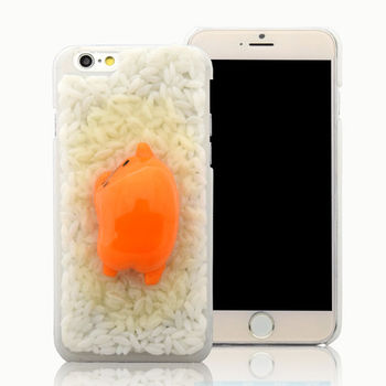 蛋黃哥 iPhone 6/6s (4.7吋) 立體蛋黃米飯手機殼