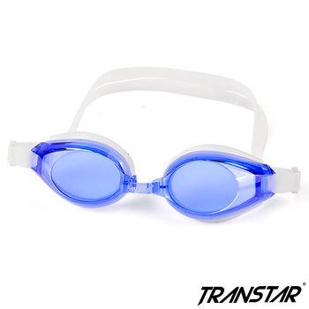 TRANSTAR 兒童泳鏡 抗UV六段調扣-防霧純矽膠-3700
