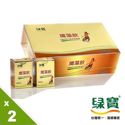【綠寶】纖藻飲30入纖活組(35ml/瓶,15瓶/盒)純素食品