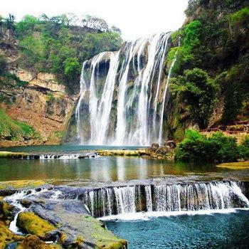出清八月無購物-貴州黃果樹瀑布雙乳峰布衣風情秀五日