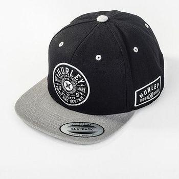 Hurley - PRINTING PRESS SNAPBACK 棒球帽 - ( 黑 )