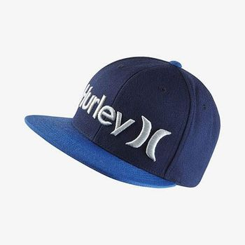 Hurley - ONE  ONLY SNAPBACK 棒球帽 - ( 曜石藍 )