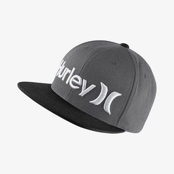 Hurley - ONE  ONLY SNAPBACK 棒球帽 - ( 煤灰黑 )