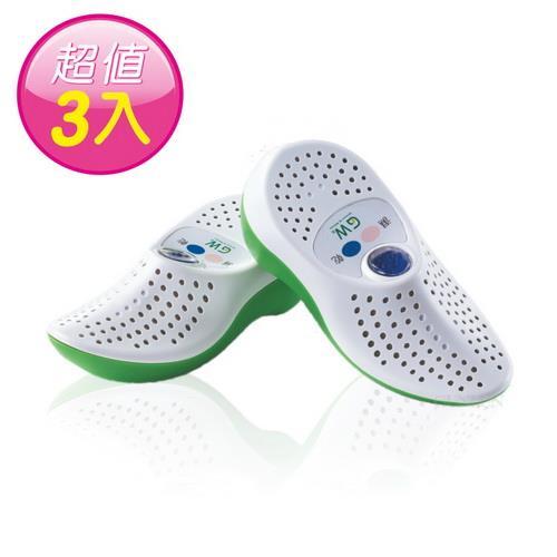 GW水玻璃 無線式乾鞋機3雙E-150