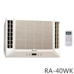 HITACHI日立4-6坪雙吹式窗型冷氣RA-40WK