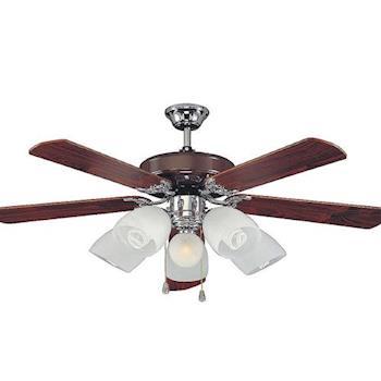 貝斯特52吊扇+五燈加夜燈組-遙控款(AS23247+23248RC)