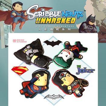 蝙蝠俠對超人:正義曙光 Q版人形系列抱枕-(4款任選1款)