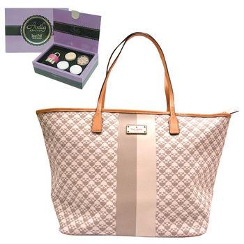 【KATE SPADE】紐約賓夕法尼亞灰色手提包