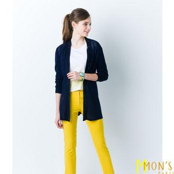 MON'S法國名媛風典雅亮鑽外套