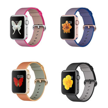 Apple Watch Sport 智慧型手錶 (38mm) /A  搭配尼龍織紋錶帶_ 台灣公司貨 [贈送錶貼及錶套] - 網